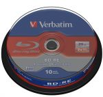 BD-RE VERBATIM 2x SL 25Gb Cake 10