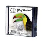 8см mini-CD-RW SMART TRACK 4-12x Slim /по 5 шт./