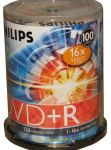 DVD-R PHILIPS 1-16x 4.7Gb Cake 100