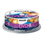 DVD-R PHILIPS 1-16x 4.7Gb Cake 25
