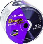 DVD-R Ridata 8x 9,4Gb Double Side Spindle 50
