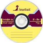 DVD+R SMART TRACK 8x 8.5Gb Dual Layer Slim