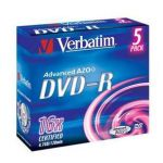 DVD-R VERBATIM 16x 4.7Gb Jewel