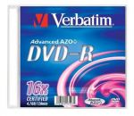 DVD+R VERBATIM 16x 4.7Gb Slim