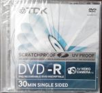 8см mini-DVD-R TDK 1-2x 1,4Gb